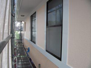 外装工事:外壁 施工後