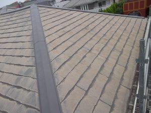 外装工事:屋根 施工前