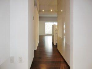 施工後の廊下