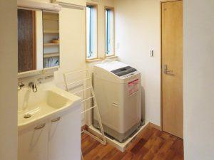 シェアハウス:洗面化粧台・洗濯機