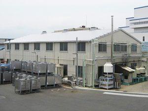 倉庫屋根改修工事:施工後