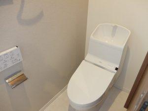 新築工事:トイレ
