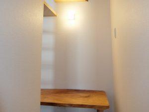 新築工事:階段下スペース