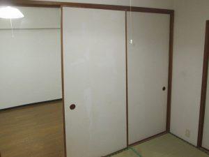 [マンションリフォーム]和室の戸襖:施工前