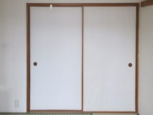 [マンションリフォーム]和室の押し入れ