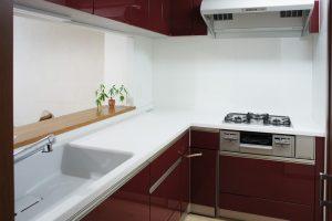 [マンションリフォーム]キッチン:施工後