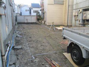アパート新築工事
