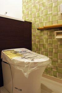 [マンションリフォーム]トイレ:施工後