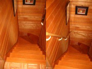 階段手摺 取付