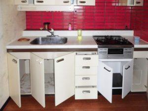 マンションリフォーム:キッチン[施工前]