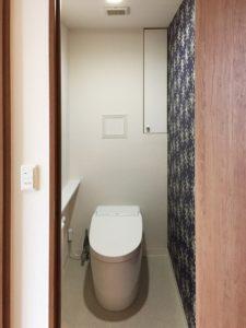マンションリフォーム:トイレ[施工後]