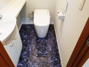 トイレ①:施工後[戸建リフォーム]