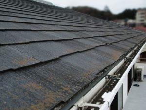 外装工事:屋根塗装工事の施工前[戸建リフォーム]