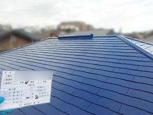 外装工事:屋根塗装工事の施工後[戸建リフォーム]